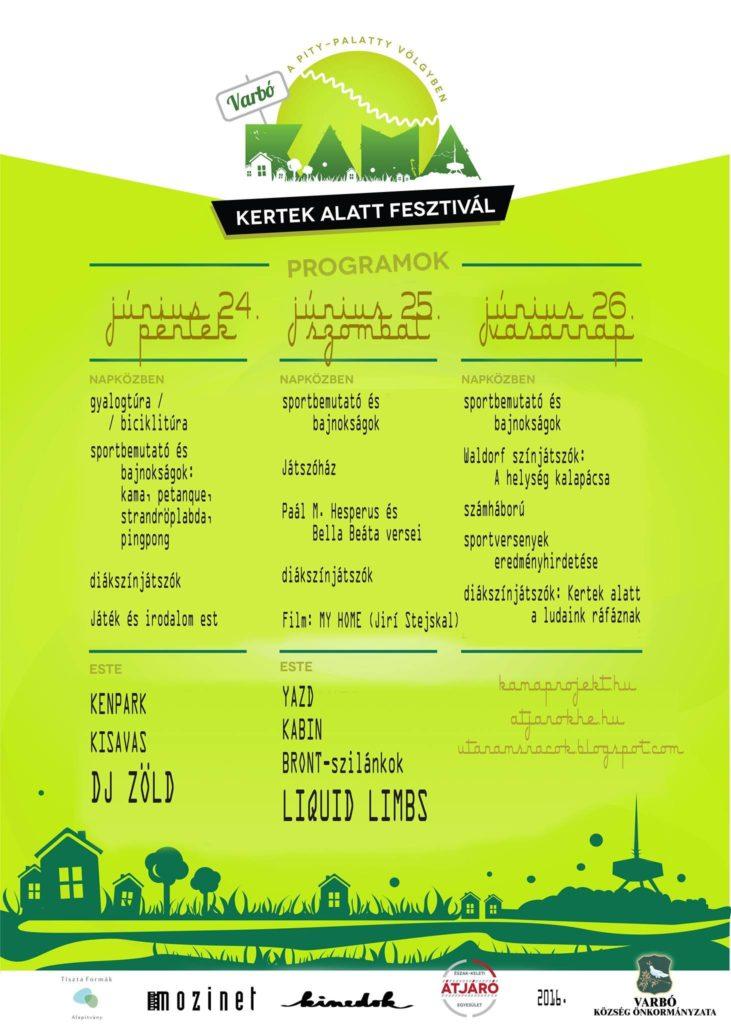 KAF-plakát 2016-2
