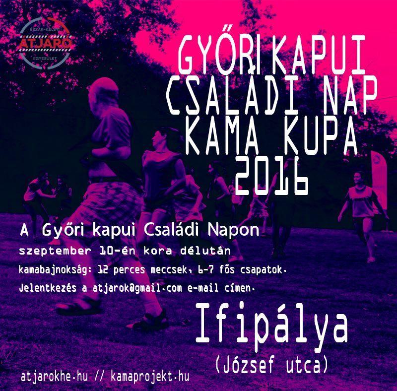 Kamabajknokság -Győrikapu