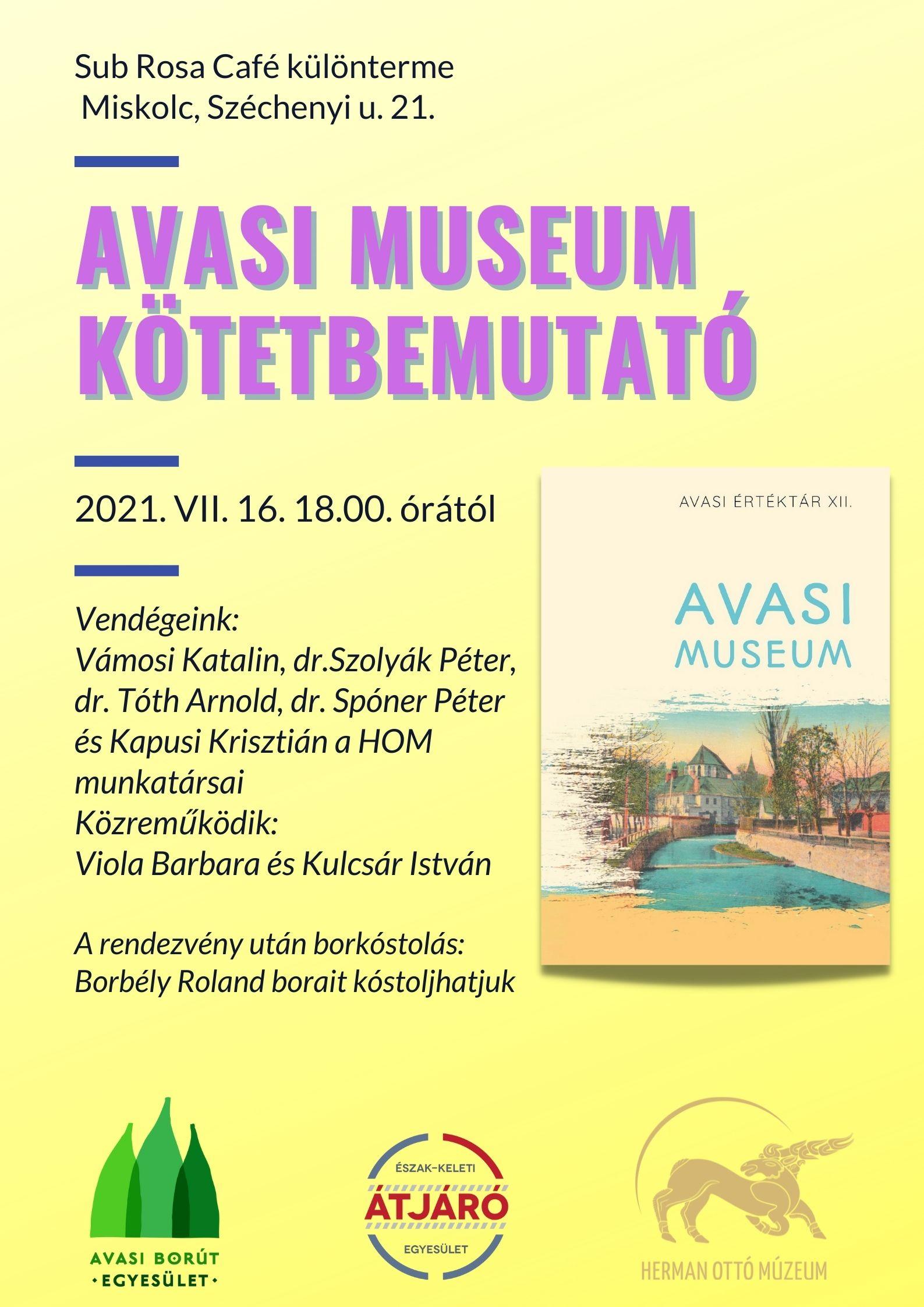 AVASI Museum -plakát-2.2
