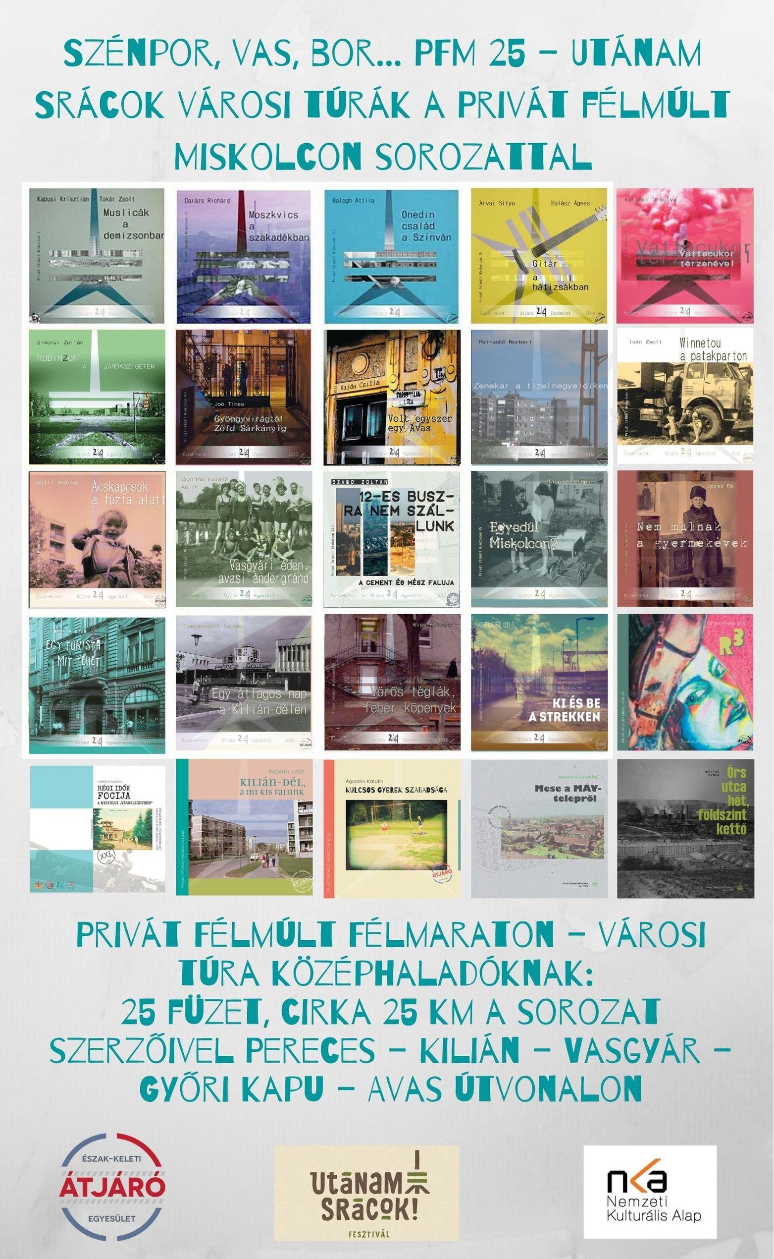 Szénpor, vas, bor... PFM 25!-logókkal